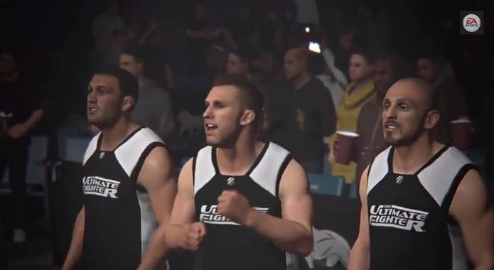 EA Sports UFC promete recirar o clima do reality show TUF (Foto: Reprodução/YouTube)