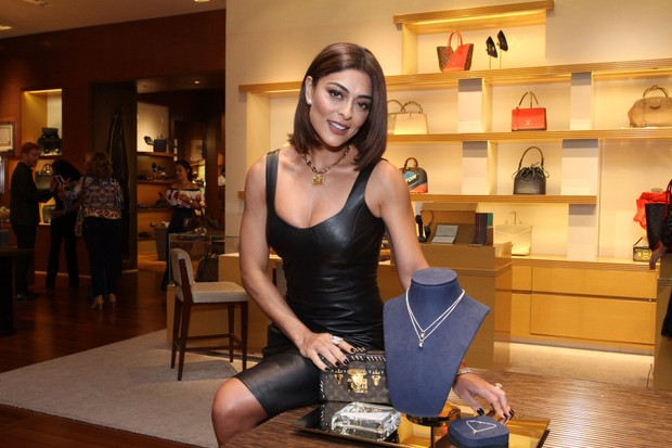 Juliana Paes no evento beneficente da Louis Vuitton (Foto: Thyago Andrade -Brazilnews)