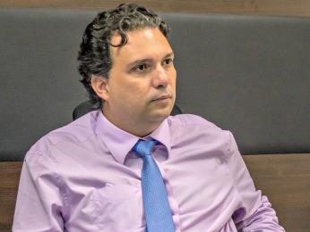Vinicius de Carvalho Araújo, presidente da MT Par, diz que intenção é receber investimentos do setor privado (Foto: Rafaella Zanol - Gcom/MT )