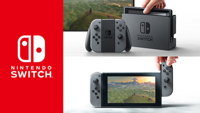 Nintendo Switch será um híbrido entre portátil e console de mesa (Foto: Divulgação/Nintendo) (Foto: Nintendo Switch será um híbrido entre portátil e console de mesa (Foto: Divulgação/Nintendo))
