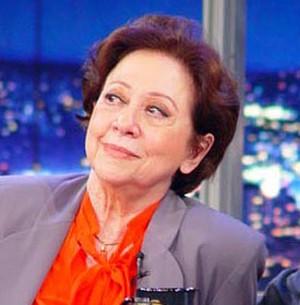Fernanda Montenegro diz que gosta muito de comer (TV Globo/Programa do Jô)