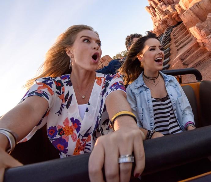 Angélica durante gravação do Estrelas na Disney (Foto: Todd Anderson / Walt Disney World )