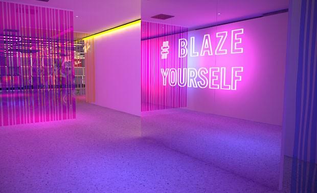 A festa #BlazeYourself promete! (Foto: divulgação)