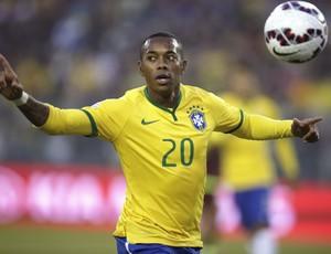 Robinho Brasil x Venezuela (Foto: EFE)