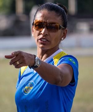 Maria Aparecida de Souza Lima, Cida, treinadora atletismo (Foto: Junior Martins/Divulgação)