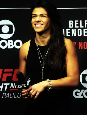 Cláudia Gadelha UFC São Paulo (Foto: Marcos Ribolli)