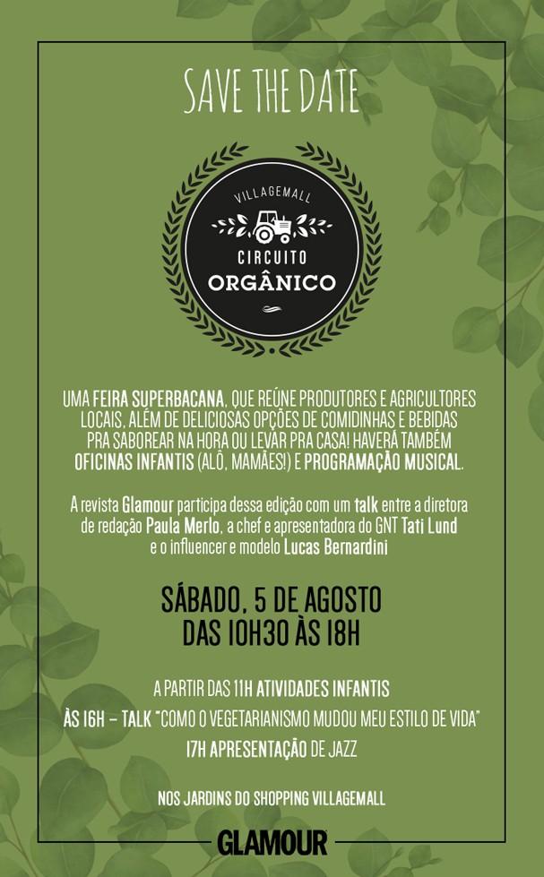 Circuito Orgânico (Foto: Instagram/Reprodução)