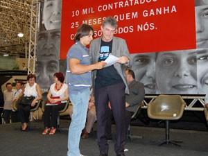 Ricardo Coutinho dá posse a concursados na Paraíba (Foto: Jhonathan Oliveira/G1)
