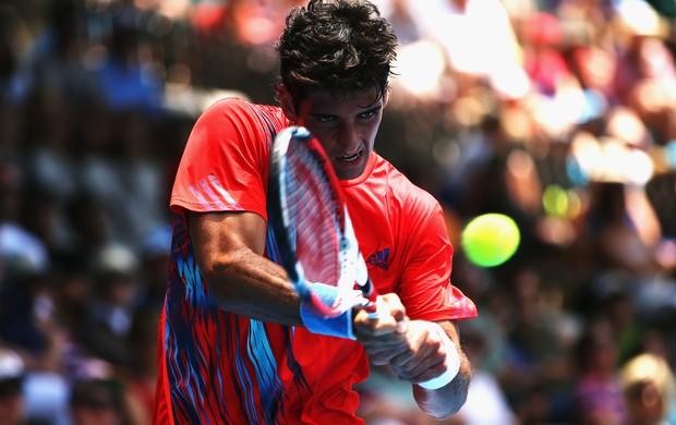 Bellucci superou início de jogo ruim e venceu na estreia (Foto: Getty Images)