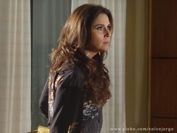 A delegada quer que o advogado descubra a verdade (Foto: Salve Jorge/TV Globo)