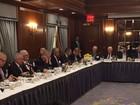 Temer se reúne com empresários em NY para apresentar plano de parcerias