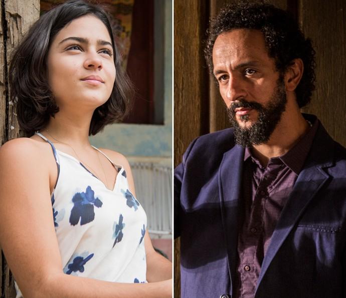 Olívia e Bento (Foto: Caiuá Franco/ Globo e Inácio Moraes/ Gshow)