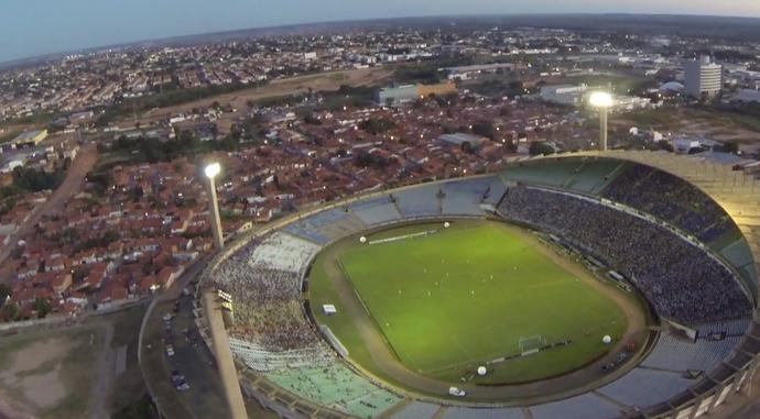 Estádio Albertão, Teresina (PI) (Foto: TV Clube)