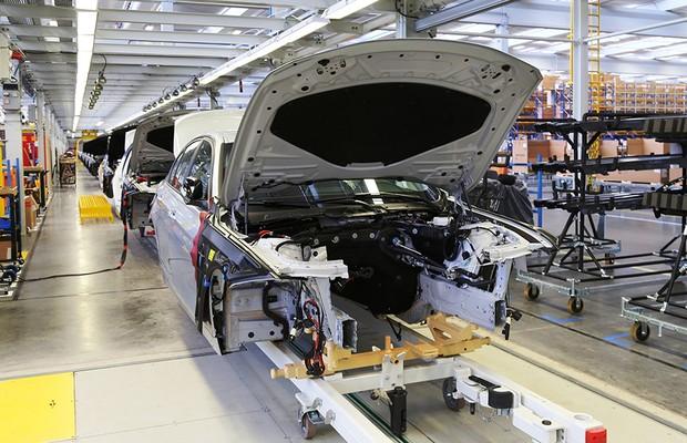 Fábrica da BMW em Araquari (SC) (Foto: BMW)