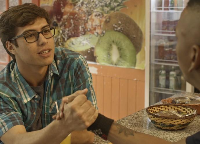 Cleyton arranja emprego para Fil (Foto: TV Globo)