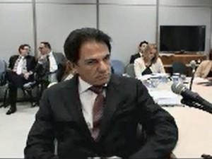 O executivo Augusto Mendonça Neto, da Setal, em depoimento à Justiça (Foto: Reprodução/Justiça Federal do Paraná)