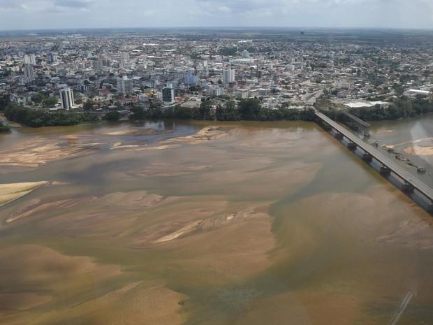 Defesa Civil retira comunidades ribeirinhas do Rio Doce, no Espírito Santo (Foto: Divulgação/Defesa Civil)