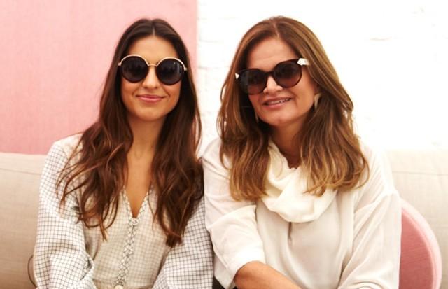 As convidadas Amanda e Denise Cassou (Foto: Divulgação)