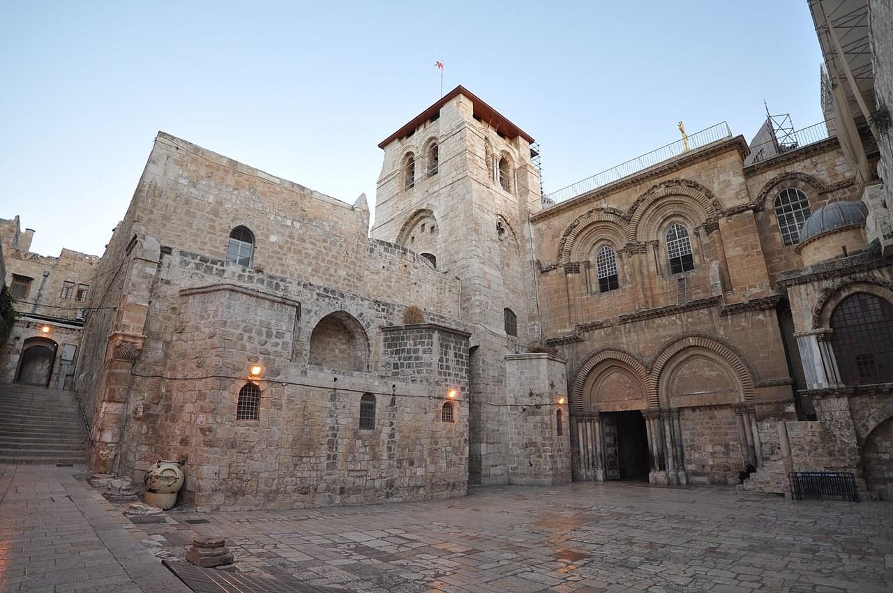Igreja do Santo Sepulcro (Foto: Wikimedia Commons)