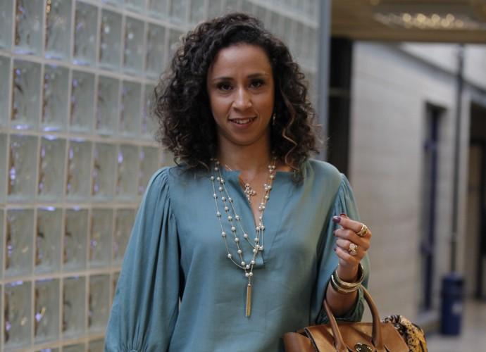 Thalita Carauta estreia em Chapa Quente (Foto: Artur Meninea / TV Globo)