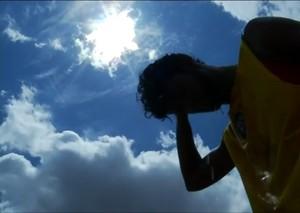 Santa Cruz-RN - calor (Foto: Reprodução/Inter TV Cabugi)