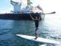 Do jornalismo ao surf: Repórter do 'Globo Esporte' fala sobre hobby