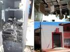 Quadrilha explode caixa do Bradesco em Rio do Fogo, RN
