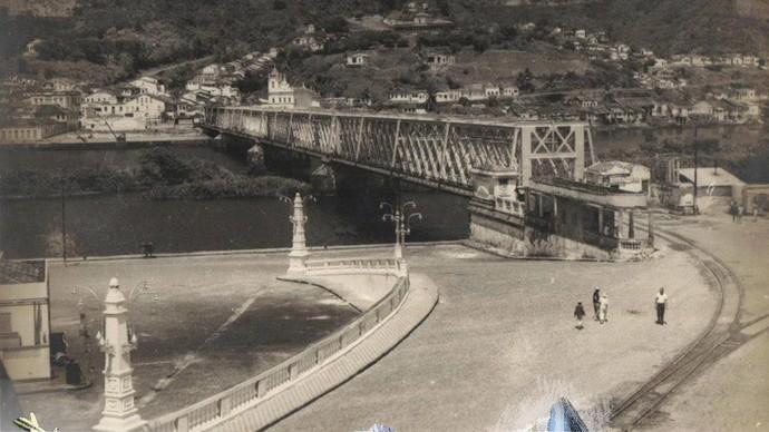 Ponte que liga Cachoeira à São Félix foi importante para a economia da região (Foto: Divulgação)