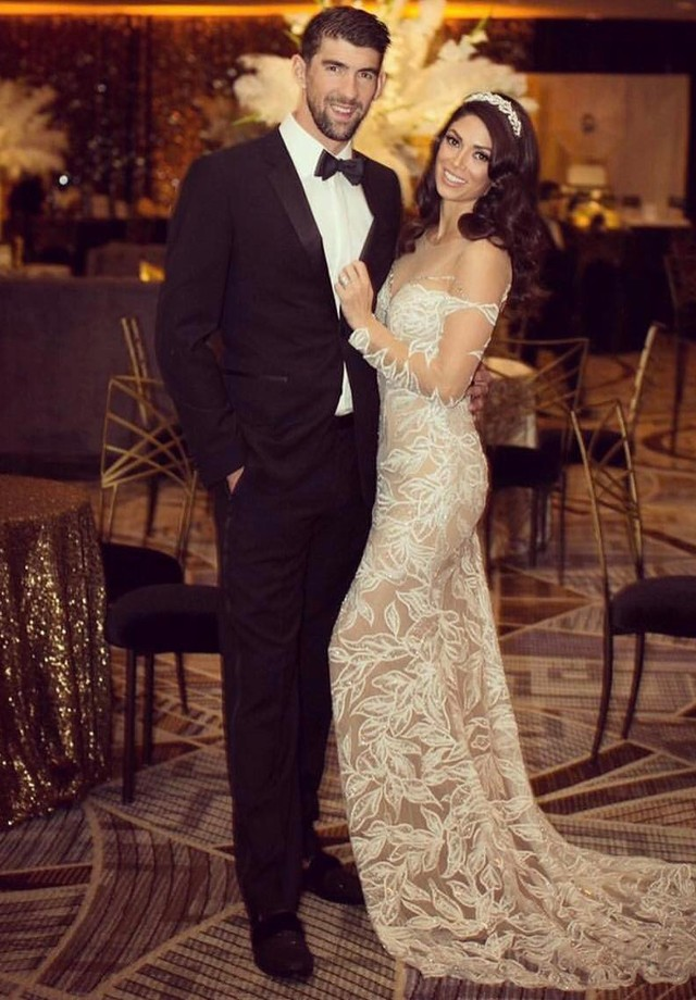 Michael Phelps e Nicole Phelps (Foto: Reprodução)