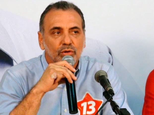 Pelegrino comenta resultado das eleições de Salvador, Bahia (Foto: Ruan Melo/G1)