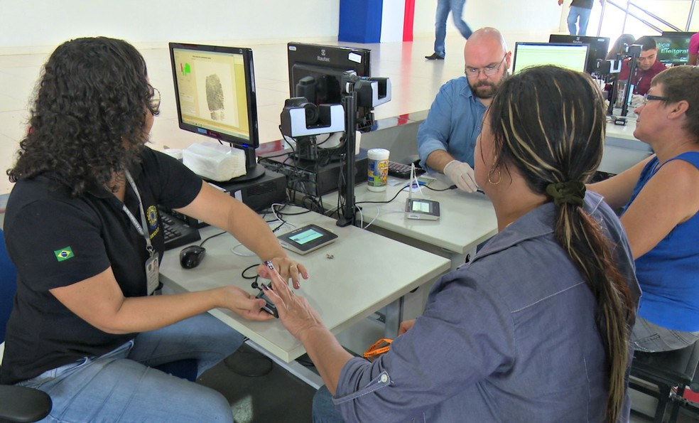 Recadastramento biométrico teve início na segunda-feira, 6 (Foto: Rede Amazônica/Reprodução)
