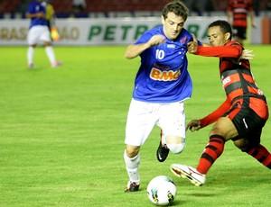 Montillo Cruzeiro x Atlético-GO (Foto: Muriel Gomes / Ag. Estado)