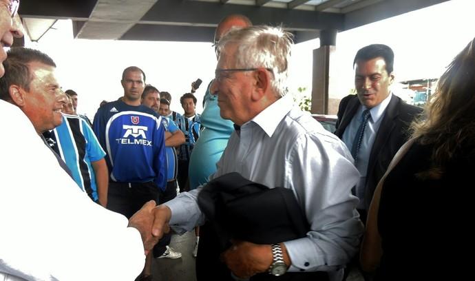 fabio koff grêmio montevidéu uruguai nacional libertadores (Foto: Lucas Rizzatti/GloboEsporte.com)