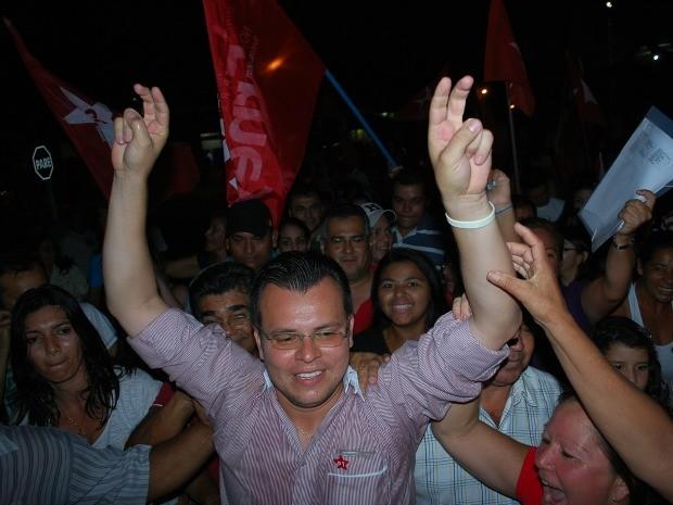 Erney Cunha é eleito prefeito de Jardim, MS, em eleição suplementar (Foto: Juliana Brum)
