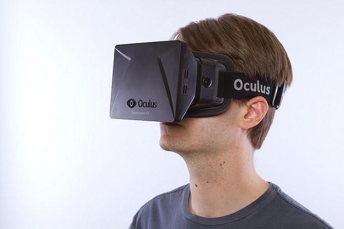 DK1, primeiro Rift entregue a desenvolvedores e apoiadores da campanha no Kickstarter (Foto: Divulgação/Oculus VR)