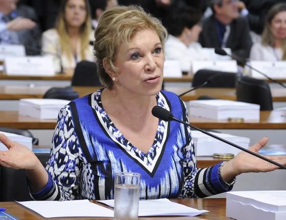 A senadora Marta Suplicy (PMDB-SP), em foto de 2014, quando ainda era filiada ao PT (Foto:  Geraldo Magela/Agência Senado)