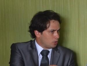 Amadeu Rodrigues, Federação Paraibana de Futebol, FPF, advogado (Foto: Larissa Keren / GloboEsporte.com/pb)