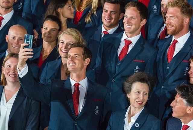 Murray cerimônia de abertura da Olimpíada no Maracanã (Foto: Twitter)
