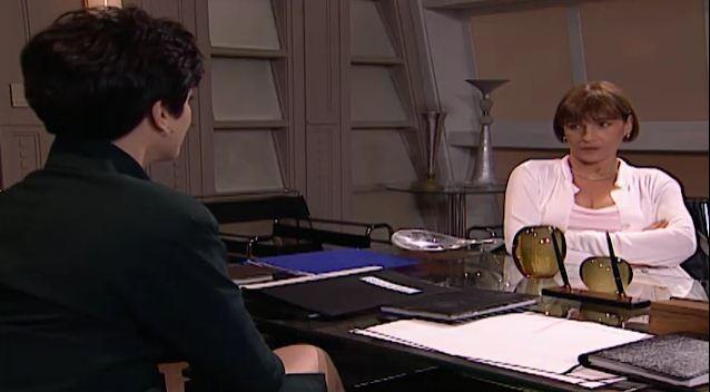 Lcia diz a ngela que decidiu vender suas aes (Foto: Reproduo/viva)