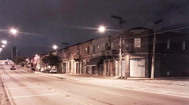 Região do Distrito Mooca, onde há imóveis abandonados (Foto: Divulgação/Disjuntor)