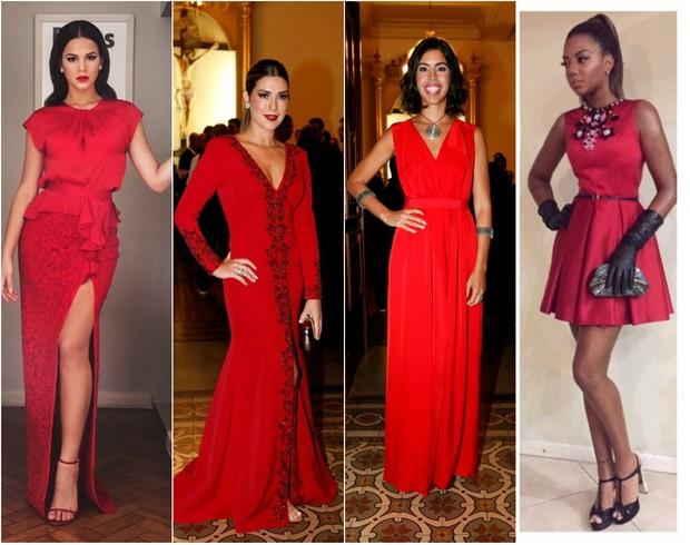 Bruna Marquezine, Fernanda Paes Leme, Bela Gil e Ludmilla no casamento de Preta Gil (Foto: Reprodução/Instagram/Felipe Panfili/Agnews)