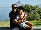 Rafael Zulu se declara para filha e admite ser ciumento