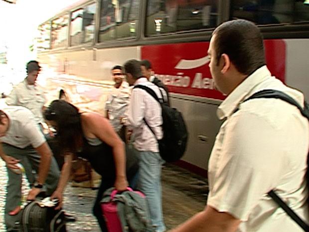 Terminal do 'Conexão' na Avenida Ávares Cabral, no Centro de BH (Foto: Reprodução/TV Globo)