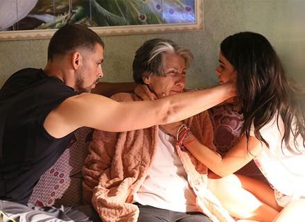 Doença deixa protagonista de Vanessa Giácomo desesperada no 1º capítulo de 'A Regra do Jogo'