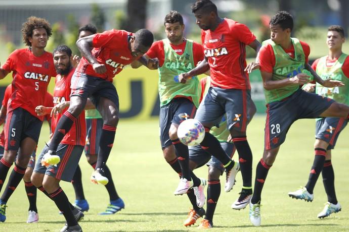 Treino Flamengo (Foto: Gilvan de Souza/ Flamengo oficial)
