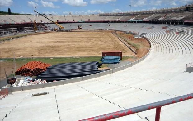 Obras de modernização do Beira-Rio (Foto: Divulgação / Inter, AG)