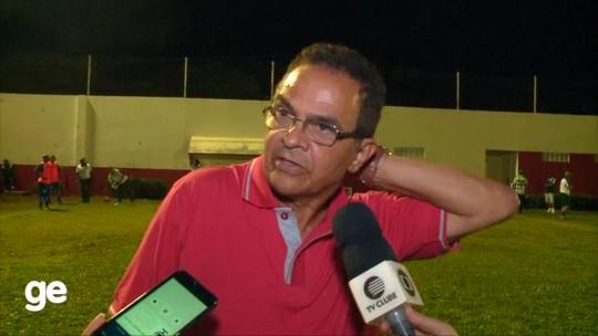 """Diá avalia time após derrota para o 4 de Julho: """"Se perderam um pouco"""""""