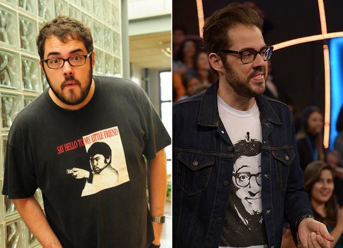 Confira o antes de depois da ator Fernando Ceylão (Foto: TV Globo)