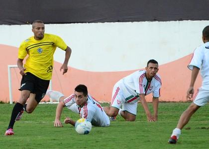Arthur Volante Rio Branco-SP Tigre (Foto: Sanderson Barbarini / Foco no Esporte)