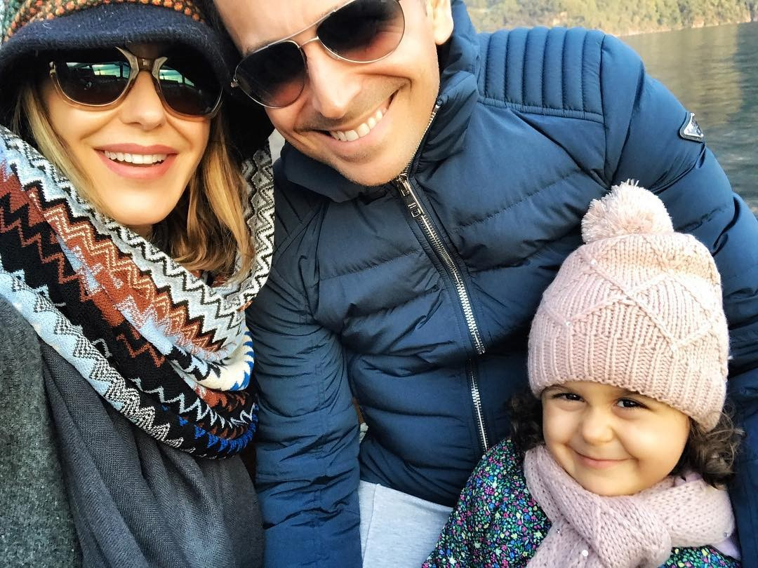 Guilhermina, o marido e a filha (Foto: Reprodução/Instagram)